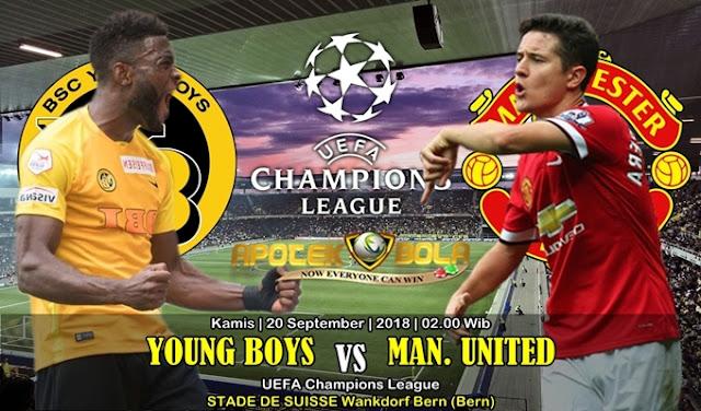 Prediksi Young Boys Vs Manchester United 20 September 2018