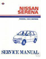 Hendri Prayitno  TYI  Nissan    Serena       C23    Manual Book