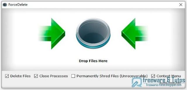 ForceDelete : un logiciel gratuit pour débloquer et supprimer les fichiers verrouillés par le système