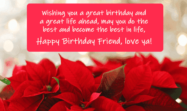 birthday wishes images for friend