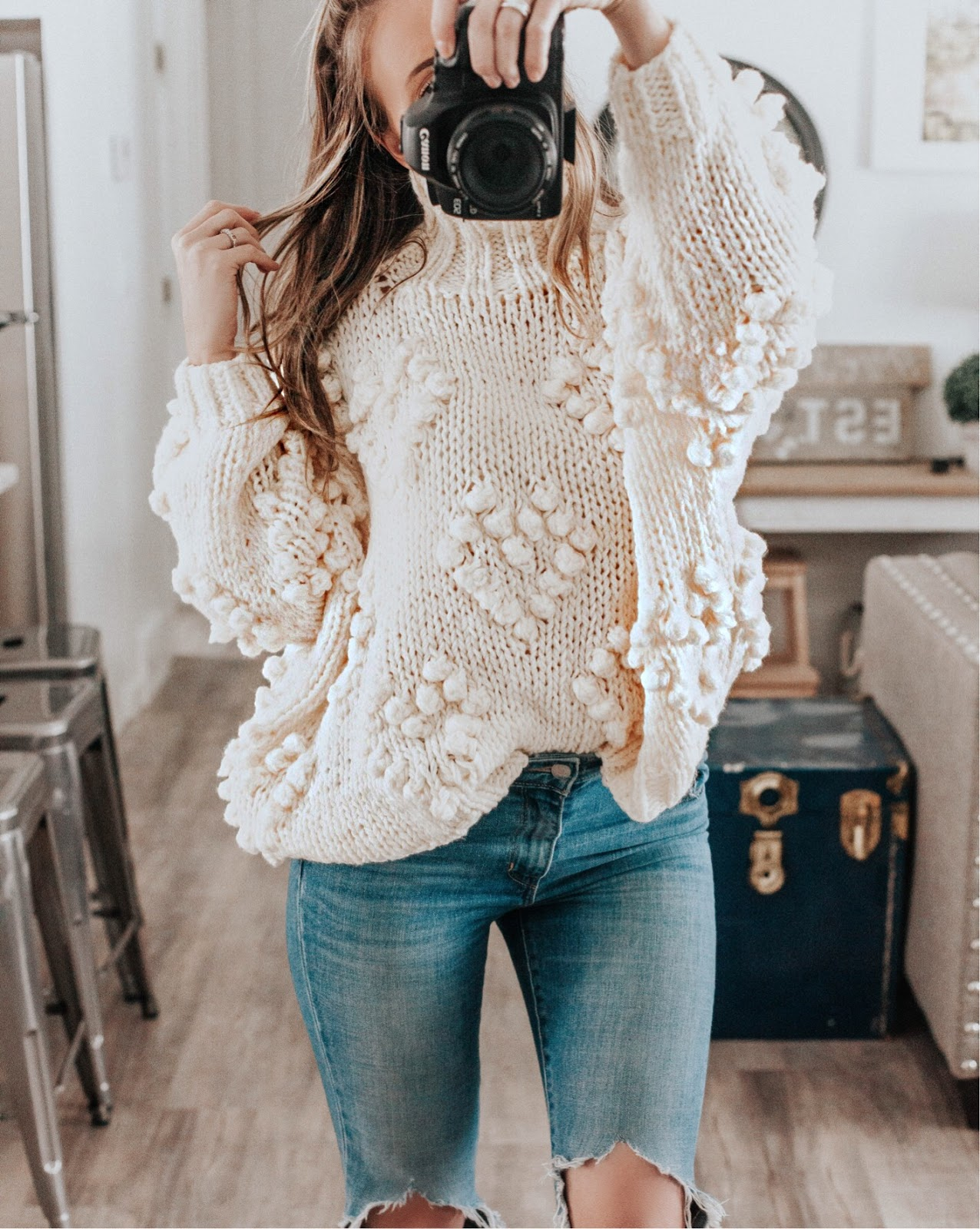 bdfa6735c9 ... favorite Instagram outfits I have been sharing lately. I seem to be  gravitating towards creams, grays, mauves, and lots and lots of denim!