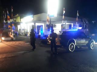 Kanit Sabhara Polsek Anggeraja Polres Enrekang Laksanakan Patroli Malam