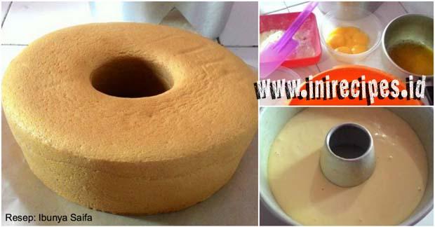 Resep Sponge Cake Yang Lembut Meski Tanpa Pengembang Sama Sekali!