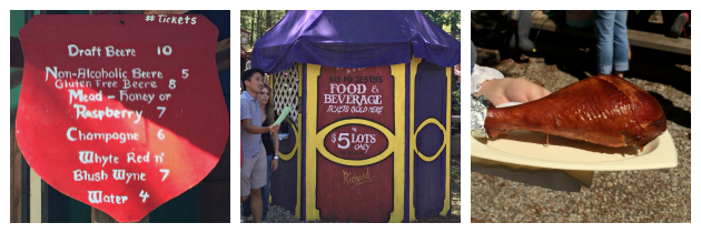 Turkey Legs Mead Stew Beer and Food Tickets at at King Richard's Faire Carver MA_New England Fall Events