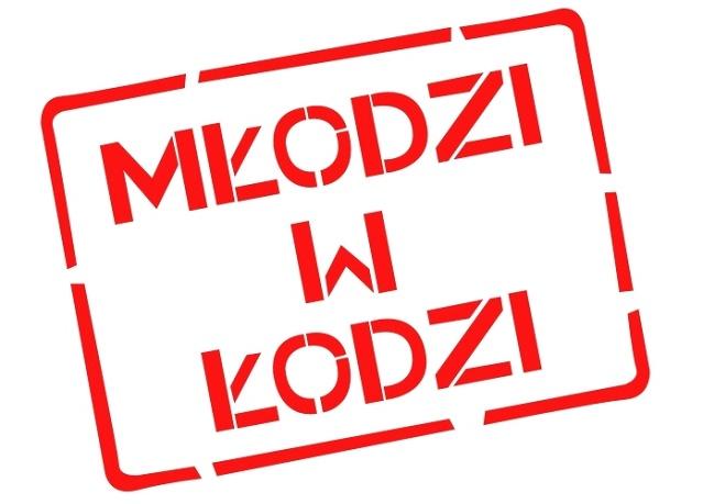 Logo akcji Młodzi w Łodzi