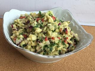 Sałatka guacamole