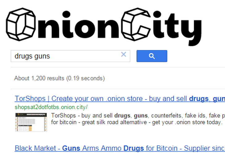 Onion.City — Search Engine for Deep Web that Works From Normal Web Browser