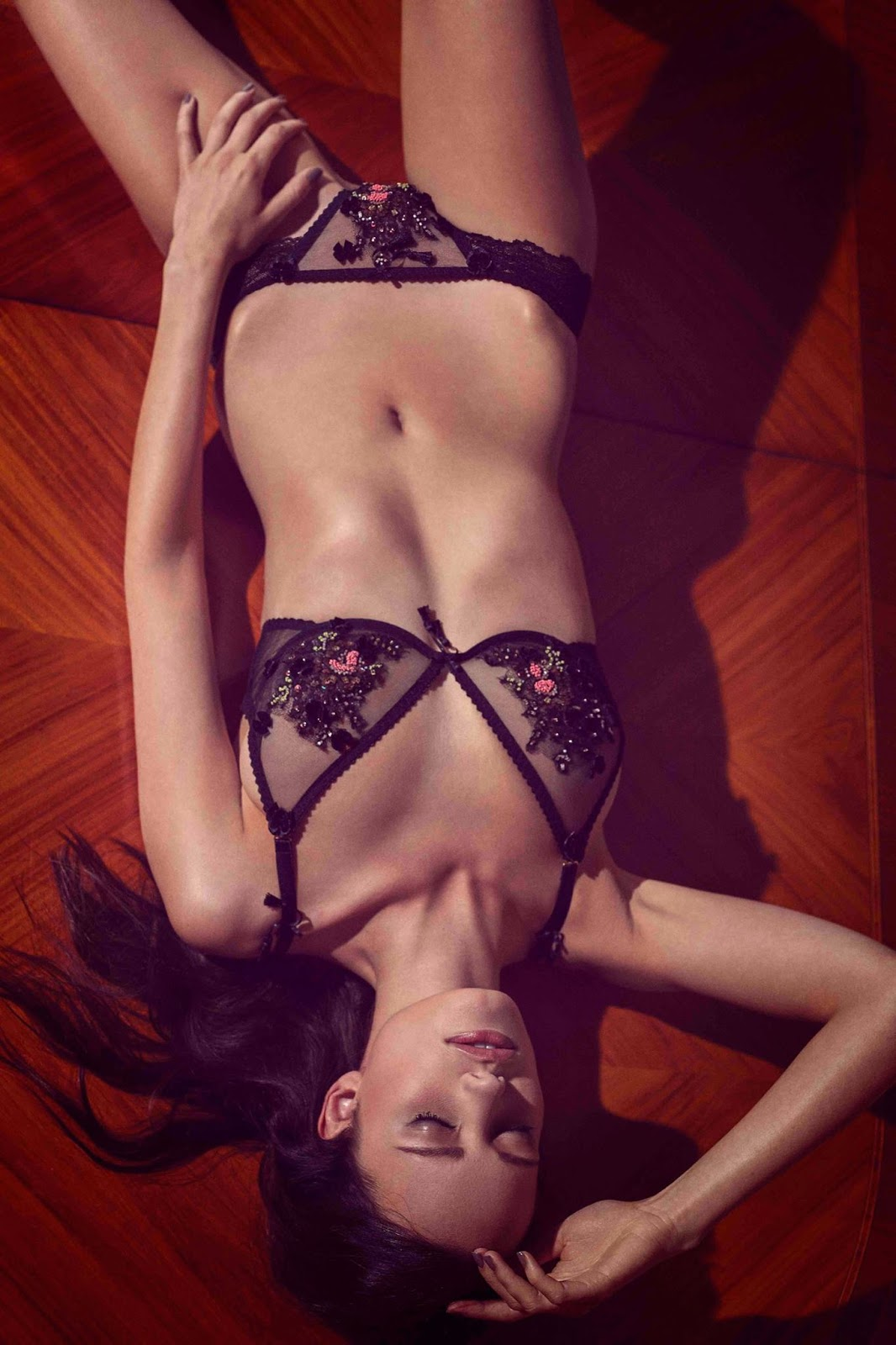 Pretty Wild Lingerie Fall Latest Ad Campaign