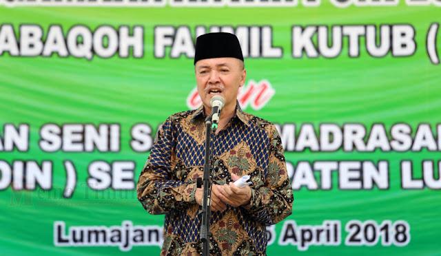 Plt Bupati Lumajang dr. Buntaran
