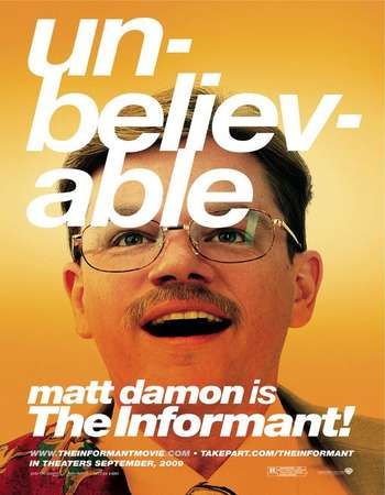 Poster Of The Informant! 2009 English 300MB BRRip 480p ESubs Free Download Watch Online Worldfree4u
