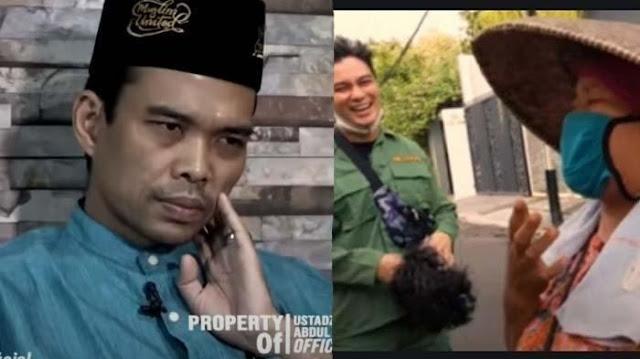 Ini Kata Ustaz Abdul Somad Soal Hukum Islam Bersedekah Jadi Konten YouTube Seperti Baim Wong Lakukan