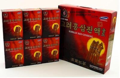 Nước hồng sâm Hàn Quốc 6 tuổi (30 gói x 80ml)