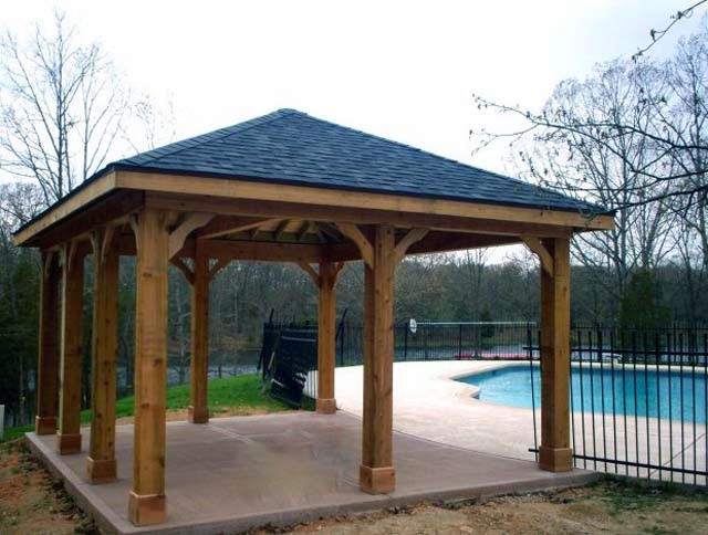 Wood Patio Cover Designs Types - AyanaHouse