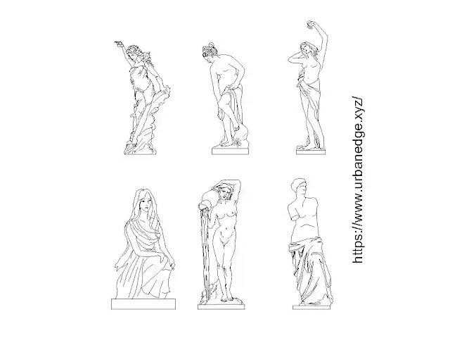Sculpture cad blocks free download, 5+ Dwg Cad Blocks