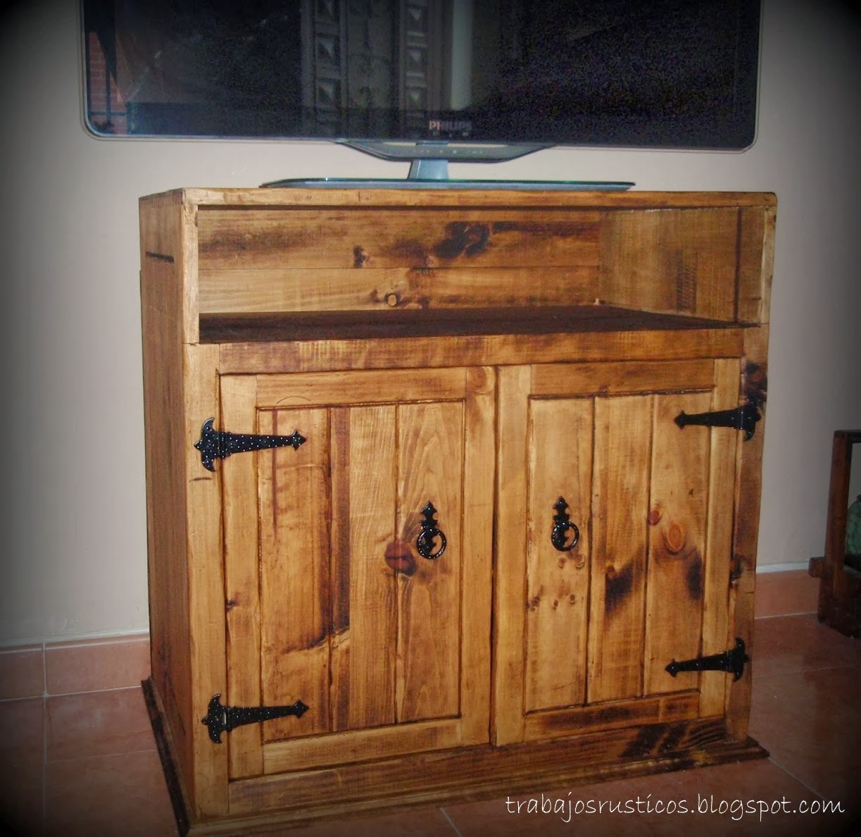 Muebles Para Tv Rusticos Mueble De Tv Rstico Micay Te Explicamos  # Muebles Mejicanos