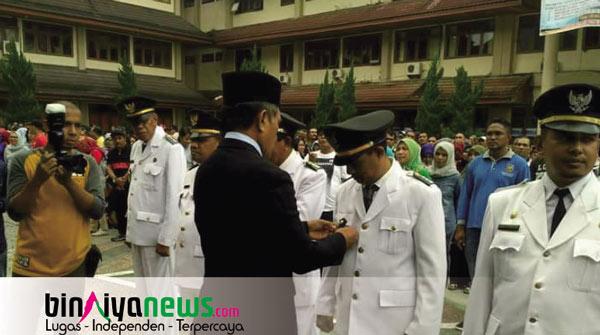 Halid Pattisahusiwa Dilantik Menjadi Kepala Kecamatan Saparua Timur
