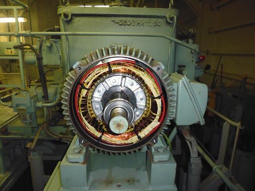 Эксплуатация и обслуживание электродвигателей в судовых условиях