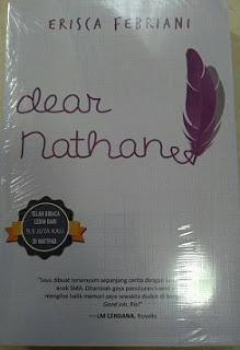 Novel Dear Nathan Kisah Anak SMU