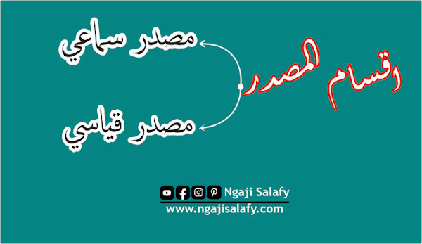 Pengertian Masdar Sama'i dan Qiyasi, Wazan-Wazan Serta Contohnya