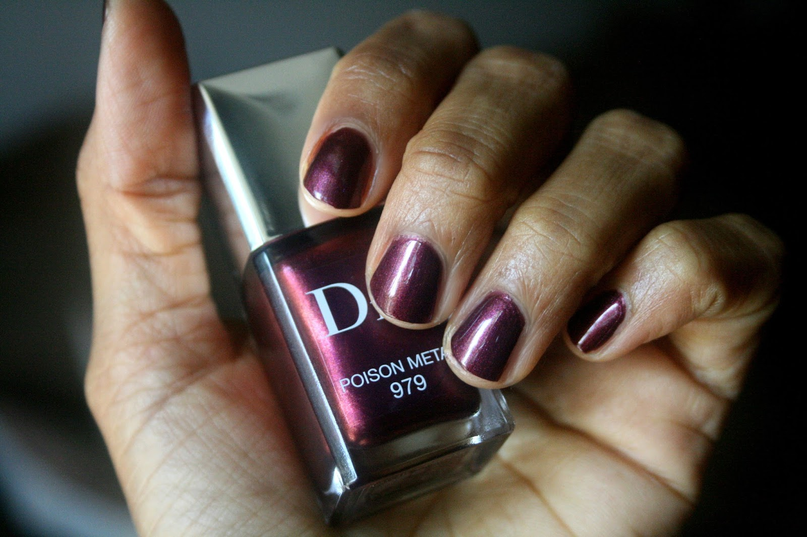 Makeup Beauty And More Dior Vernis Poison Metal