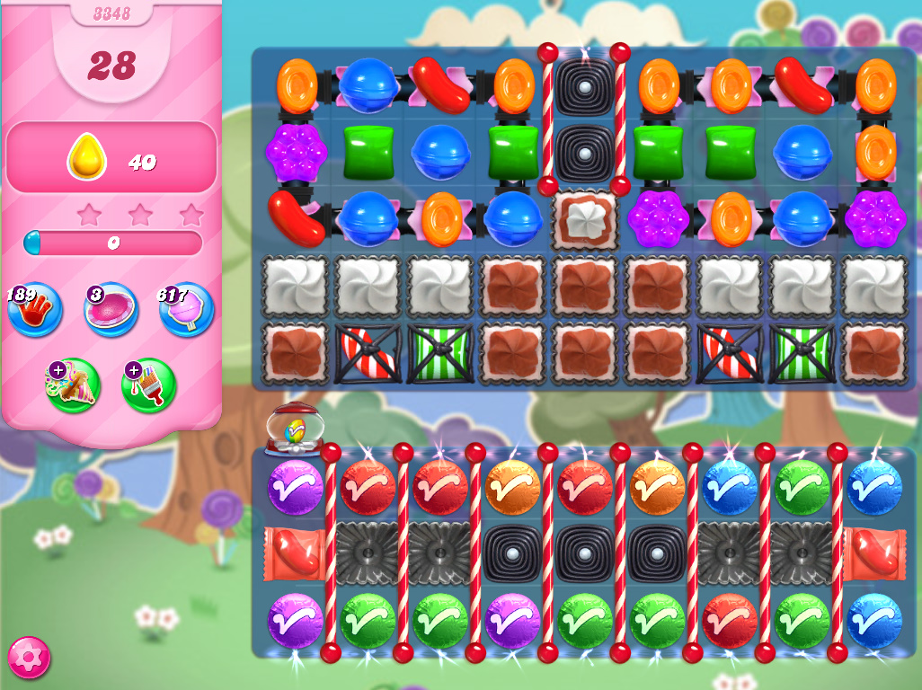 Candy Crush Saga level 3348