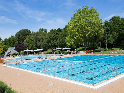 Freibad Solimare Sommer Saison 2018 in Moers - 2018/07/03