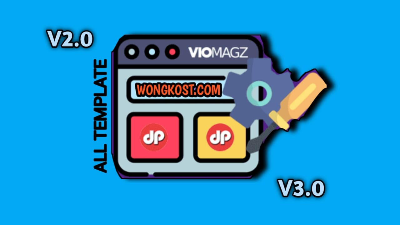 Download Template Blogger Viomagz V2.0 Sampai V3.0 Premium