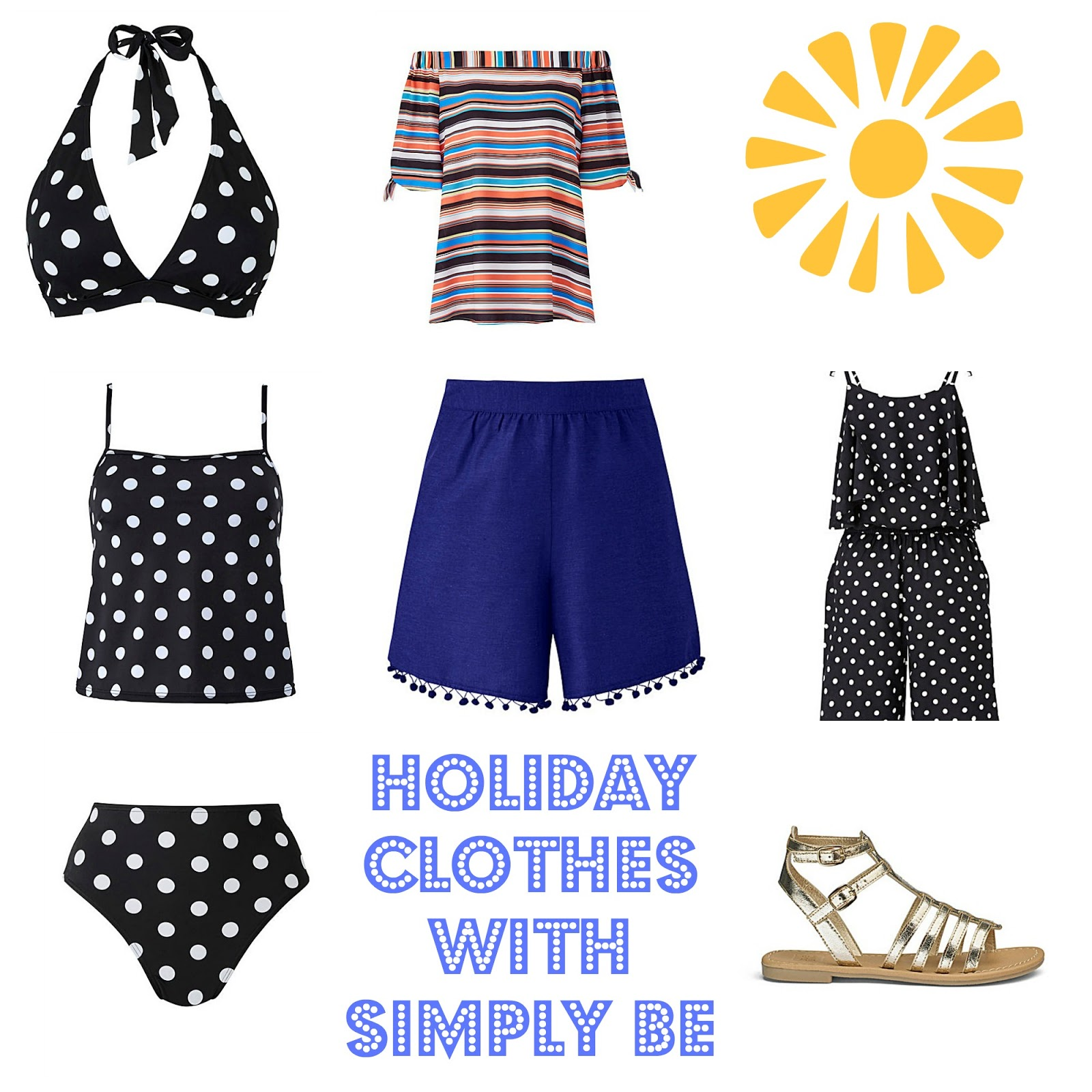 , Style:  Choosing My Holiday Wardrobe with Simply Be