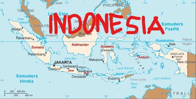 Geografy of Indonesia