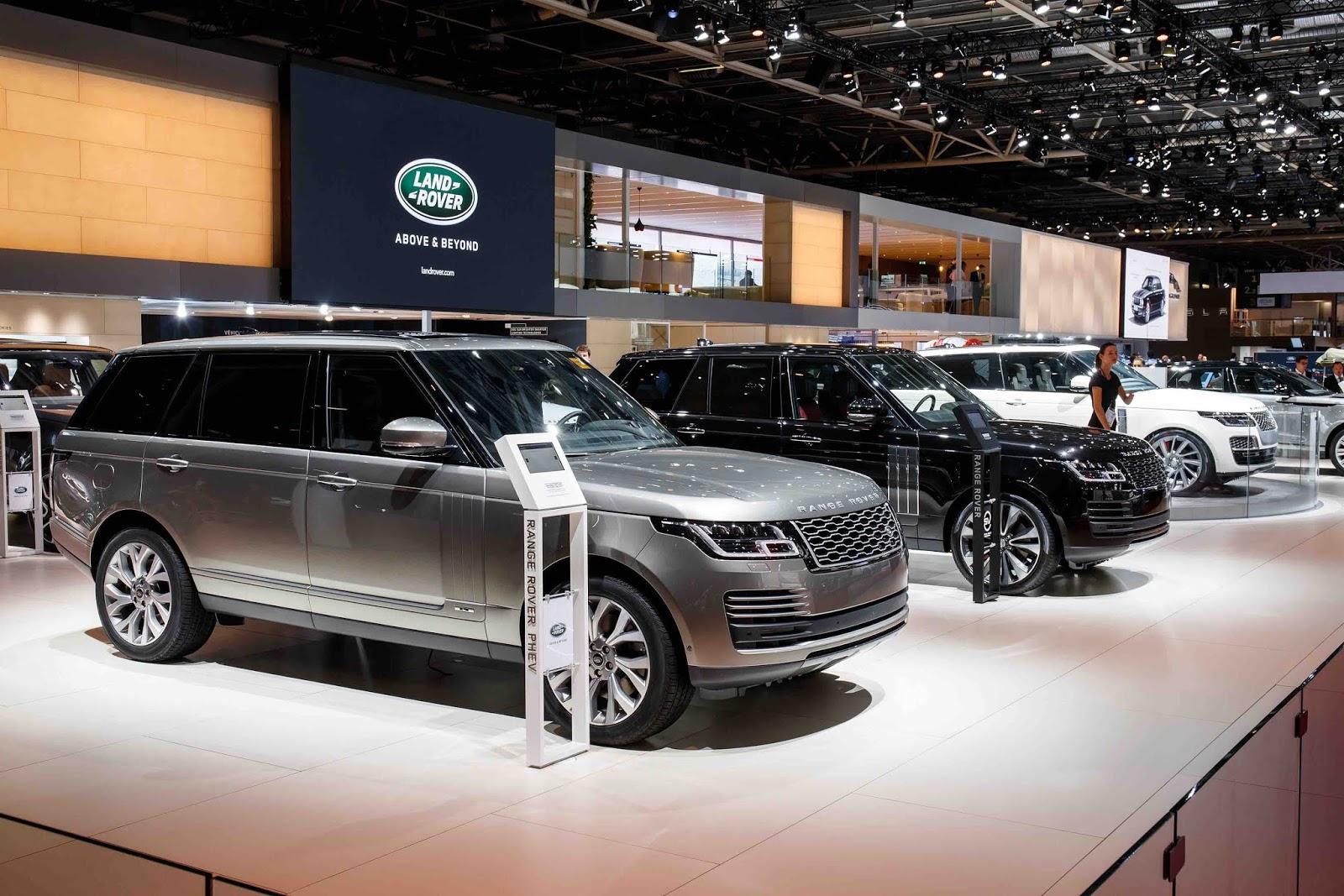Jaguar Land Rover Tại Triễn Lãm Motor Show Paris 2018 Các Mẫu Xe 2019