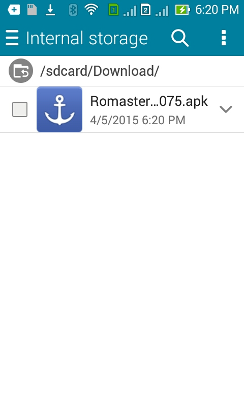 Romaster iRoot Android