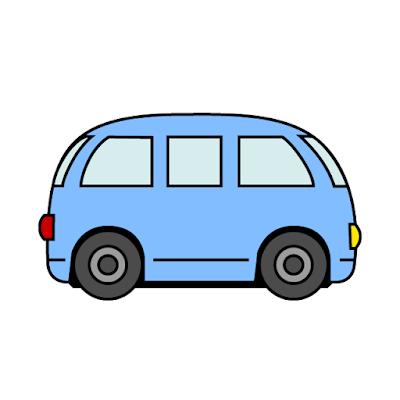 Gambar mobil yang mudah ditiru