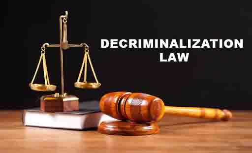 Decriminalization Law