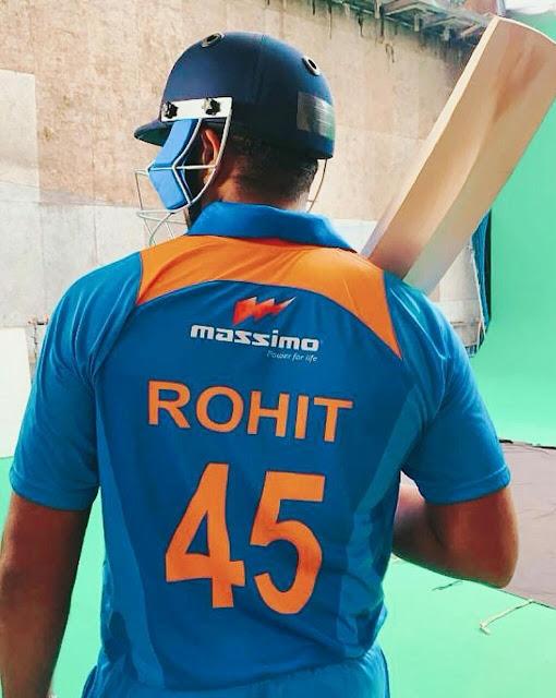 Rohit Sharma Full HD Wallpaper Download