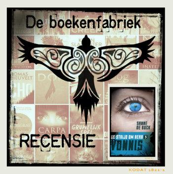 Recensie van Vonnis, laatste ddel in Aera trilogie geschreven door Sanne de Bock en uitgegeven bij Palmslag