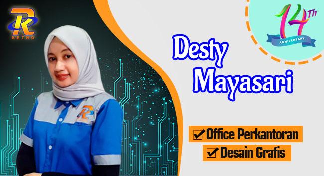 Instruktur Design Grafis dan Office Plus - Desty Mayasari - Retro Komputer