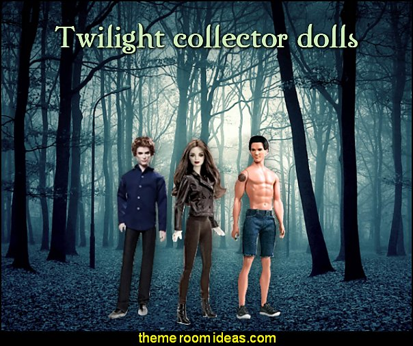 Twilight collector dolls twilight movie dolls twilight move bedroom decorations