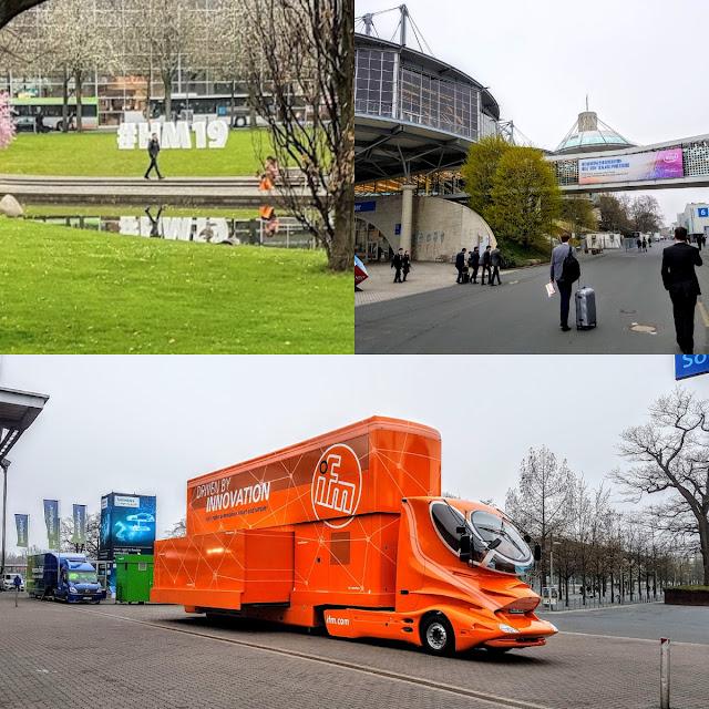 Hannover Messe 2019 - Fotos vom Außenbereich