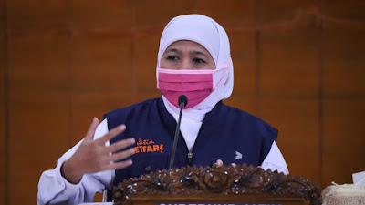 Akhir September,  Jatim Berhasil Jadi Provinsi Dengan Rate of Transmission (Tingkat Penularan) Terendah Se- Indonesia