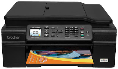 and share documents directly from your machine Brother Printer MFCJ450DW Driver Downloads