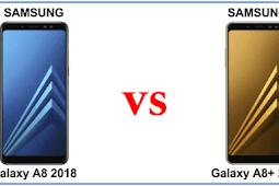 Perbandingan Samsung Galaxy A8 2018 vs Samsung Galaxy A8 Plus 2018