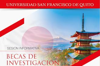 Sesión Informativa Becas de Investigación MEXT Japón