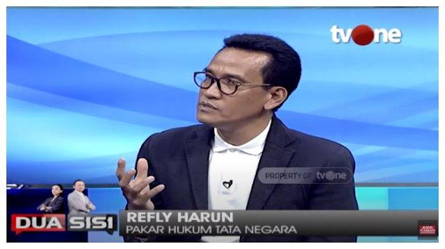 Refly Harun: Tidak Ada Beda Kerumunan HRS dengan Pilkada