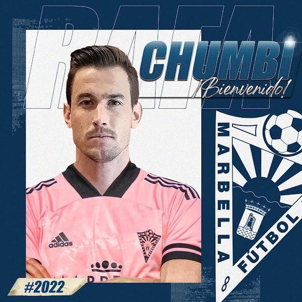 Oficial: Marbella FC, firma Chumbi hasta 2022