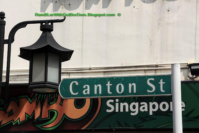 Street Sign, Singapore