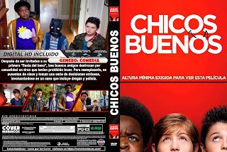 CHICOS BUENOS - GOOD BOYS - 2019 [COVER DVD]