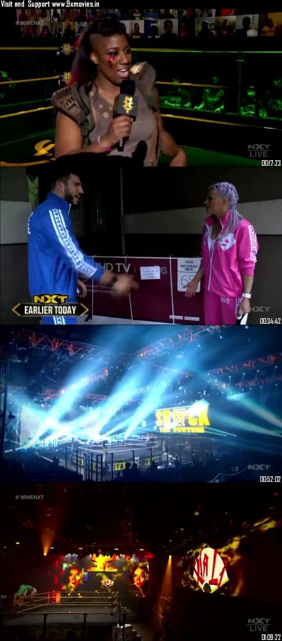 WWE NXT 07 October 2020 WEBRip 480p 350MB
