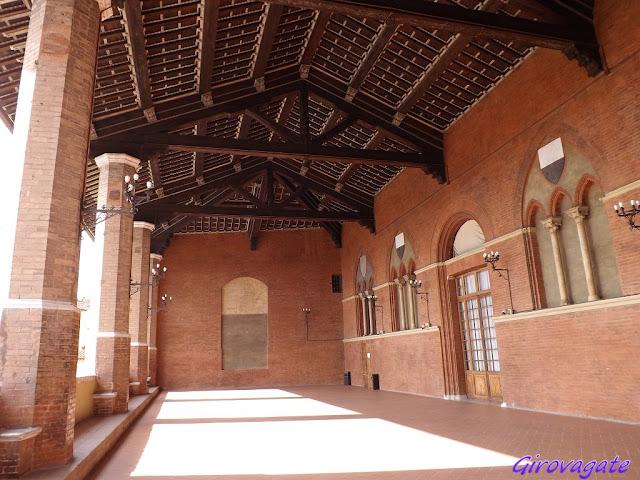 siena palazzo pubblico loggia