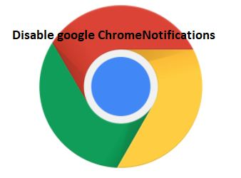 Turn off Notifications on Chrome in Windows 10