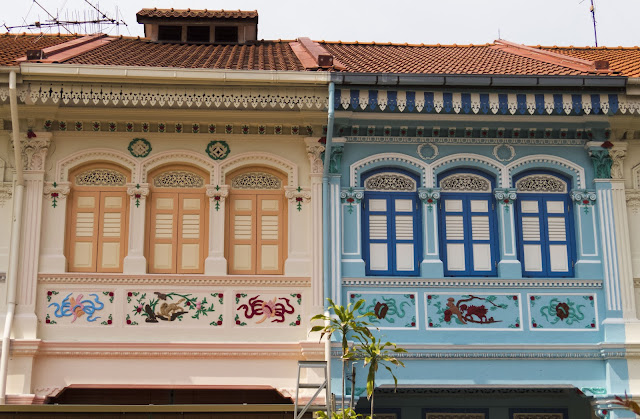 Peranakan house in Katong Joo Chiat in Singapore